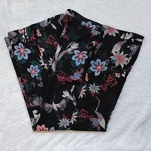 H&M Floral Bird Print Pants